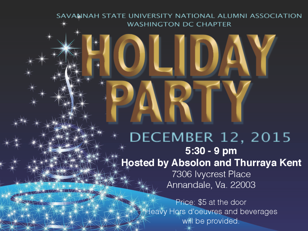 Washington DC Chapter set to host annual Holiday Social