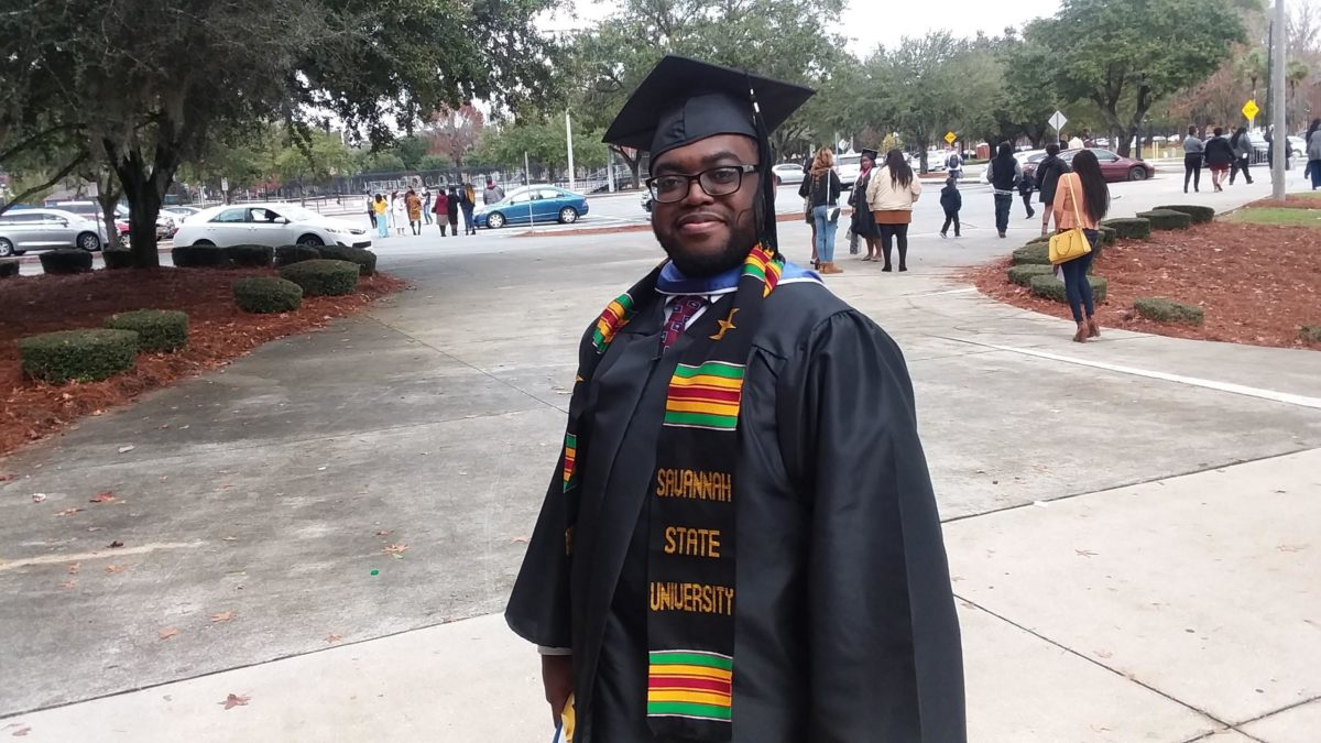 SSUNAA DC Chapter Scholarship Recipient completes degree at Savannah State University