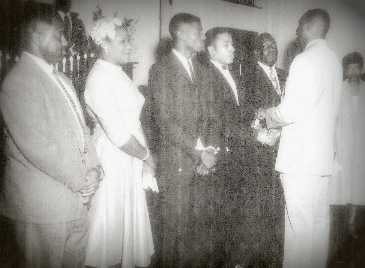 1957 Installation of Officers photo
